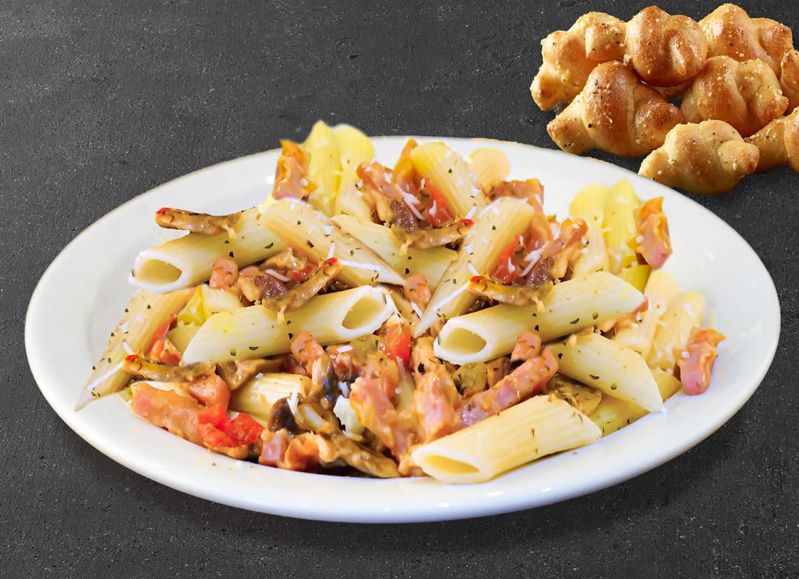 Pasta Garlic Parmesan