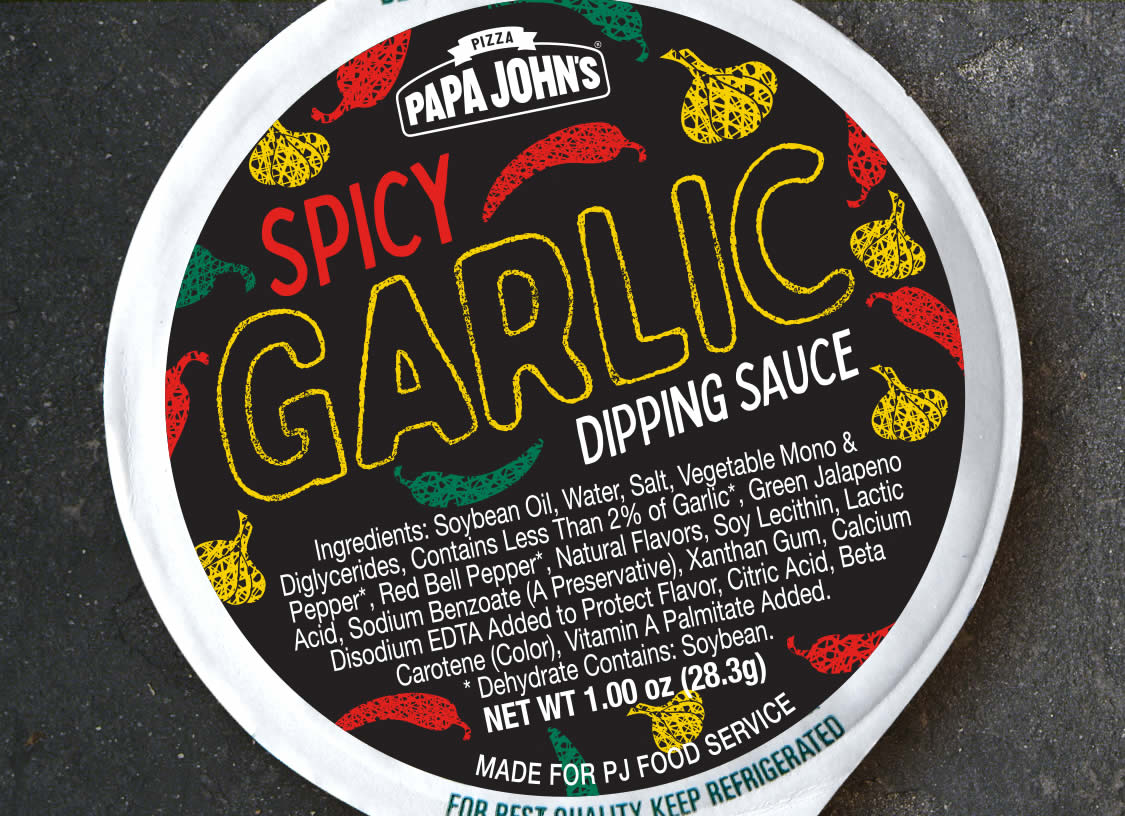 Spicy Garlic Cup