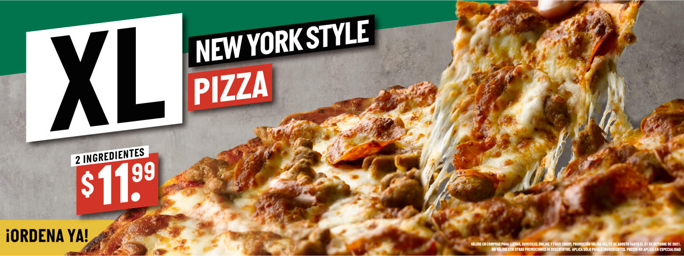 Pizza New York Style