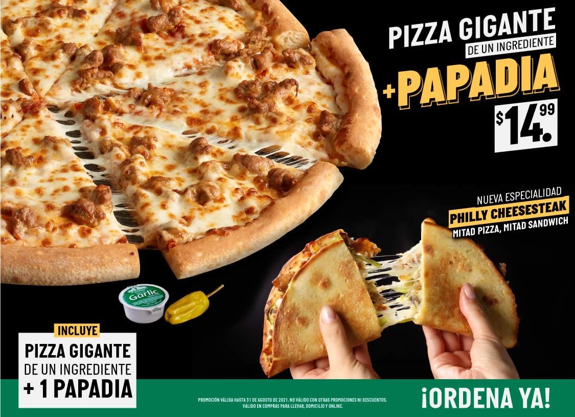 Pizza + Papadia