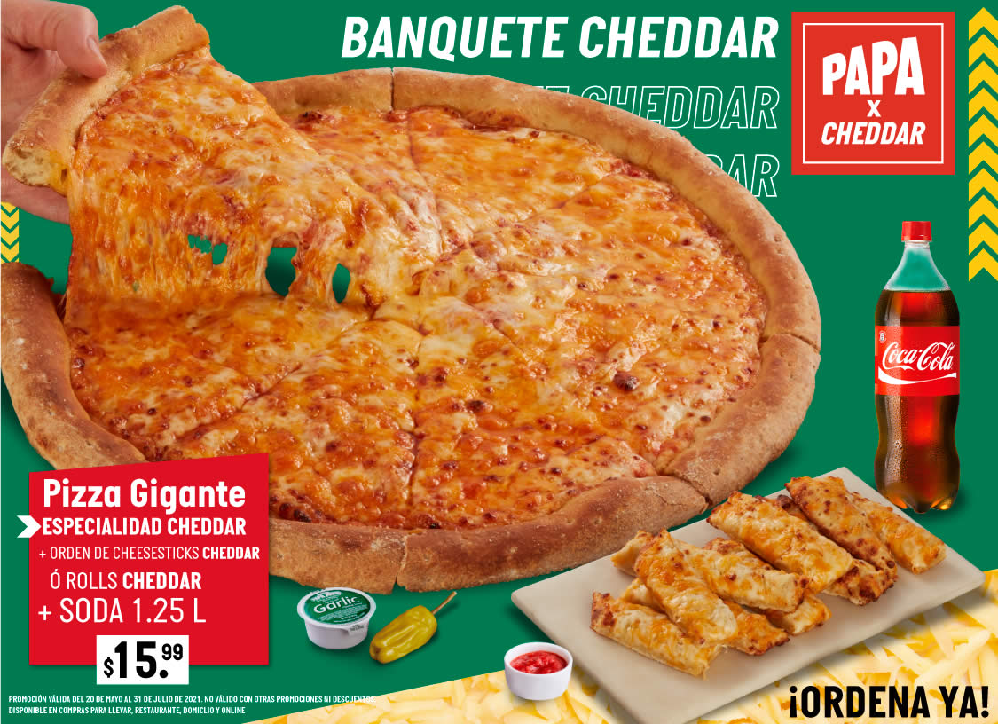 Banquete Cheddar